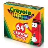 Crayola® Regular Size Crayons, 24 crayons in a tuck box