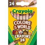 Crayola® Colors of the World Crayons, 24 colors