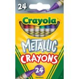 Crayola® Metallic Crayons, 24 colors