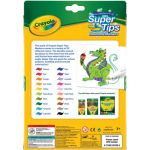 Crayola® Super Tips Washable Markers, 20 colors