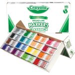 Crayola® Classpack Markers, 16 colors, 256 count, Broad-Line