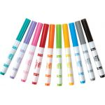 Crayola® Fabric Markers, 10 colors, Fine Line