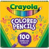 Crayola® Colored Pencils, 100 colors