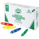 My First Crayola® Classpack® Tripod Grip Paintbrush Pens