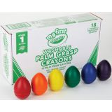 Young Kids Washable Palm-Grasp Crayons Classpack® Assortment