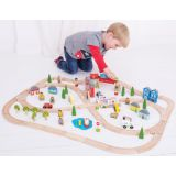 Bigjigs® Rail Town & Country Train Set