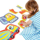 Hands at Play Construction Vehicles Puzzles