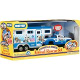 Animal Rescue Truck & Trailer with lights and sound
