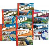 Investigating Continents Books Set, Set of 7