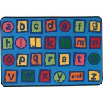 KID$ Value Rugs™, Alphabet Blocks Rug, 3' x 4'6