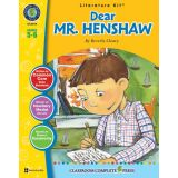 Dear Mr. Henshaw Literature Kit™, Grades 5-6