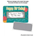 Scratch Off Awards, Happy Birthday!