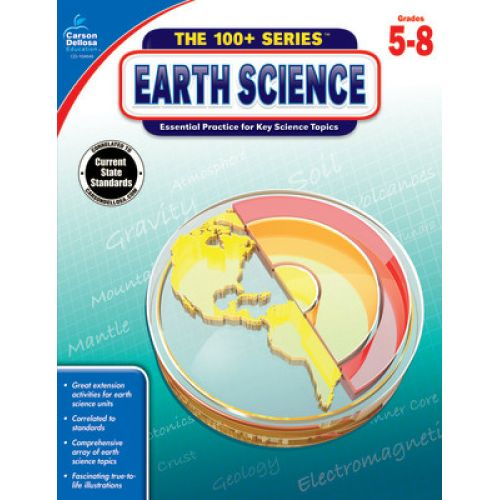 The 100 Map Of Earth.The 100 Series Earth Science Cd 104640
