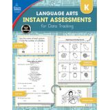 Instant Assessments for Data Tracking: Language Arts, Grade K