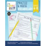 I'm Lovin' Lit Practice & Assessment, Vocabulary, Grades 4-8