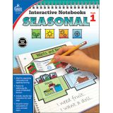Seasonal Interactive Notebook, Grade 1