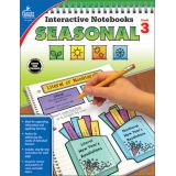 Seasonal Interactive Notebook, Grade 3