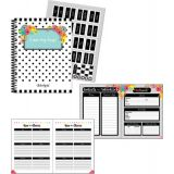 Schoolgirl Style™ Simply Stylish Tropical Pineapple Teacher Planner