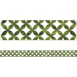 Schoolgirl Style™ Woodland Whimsy Moss Lattice Straight Borders
