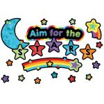 Celebrate Learning Aim for the Stars Mini Bulletin Board Set
