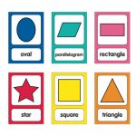 Schoolgirl Style™ Just Teach Shapes Cards Mini Bulletin Board Set