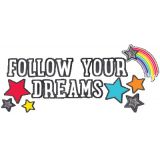 Schoolgirl Style™ Twinkle Twinkle You're a Star! Follow Your Dreams Bulletin Board Set