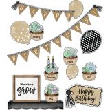 Schoolgirl Style™ Simply Stylish Birthday Bulletin Board Set