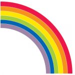 Schoolgirl Style™ Hello Sunshine Giant Rainbow Bulletin Board Set