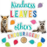 Schoolgirl Style™ Woodland Whimsy Kindness Leaves Others Encouraged Bulletin Board Set