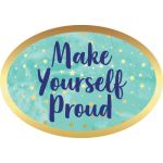 Galaxy Motivational Signs Mini Bulletin Board Set