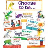 The World of Eric Carle™ Positive Character Traits Mini Bulletin Board Set
