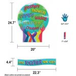 One World Together We Can Change the World Bulletin Board Set