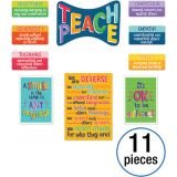 One World Teach Peace Bulletin Board Set