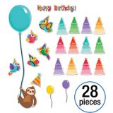 One World Birthday Mini Bulletin Board Set