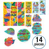 One World Motivational Mini Bulletin Board Set