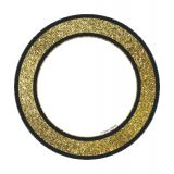 Sparkle + Shine Colorful Cut-Outs®, Gold Glitter Dots