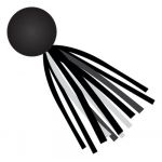 Schoolgirl Style™ Simply Stylish Black & White Tassels Colorful Cut-Outs® Assorted Designs