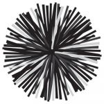 Schoolgirl Style™ Simply Stylish Black & White Poms Colorful Cut-Outs® Assorted Designs