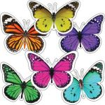 Schoolgirl Style™ Woodland Whimsy Butterflies Colorful Cut-Outs® Extra Large Assorted Designs