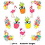 Schoolgirl Style™ Simply Stylish Tropical Accents Extra Large Colorful Cut-Outs®