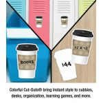 Schoolgirl Style™ Industrial Café To-Go Cup Colorful Cut-Outs®