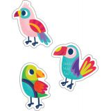 Parrots Colorful Cut-Outs®