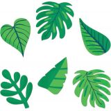 Tropical Leaves Colorful Cut-Outs® Extra Large Assorted Designs