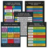 Chalkboard Reading Chartlet Set