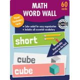 Math Word Wall Learning Cards, Grade K
