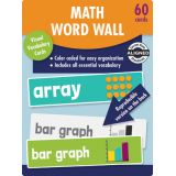 Math Word Wall Learning Cards, Grade 2