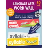 Language Arts Word Wall Learning Cards, Grade K