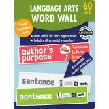 Language Arts Word Wall Learning Cards, Grade 1