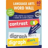 Language Arts Word Wall Learning Cards, Grade 2
