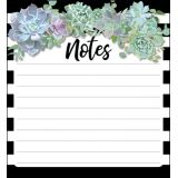 Schoolgirl Style™ Simply Stylish Succulents Notepad